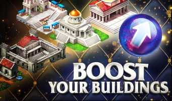 Game of War Building Boosts Time Orbs