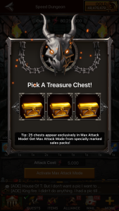 Basic Attack Mode 3 chests