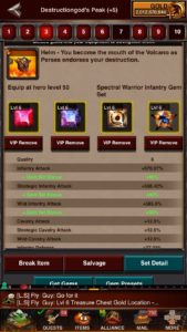 Spectral Warrior Infantry Gem Set Game of War