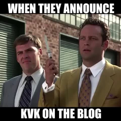When They Announce KvK on the blog